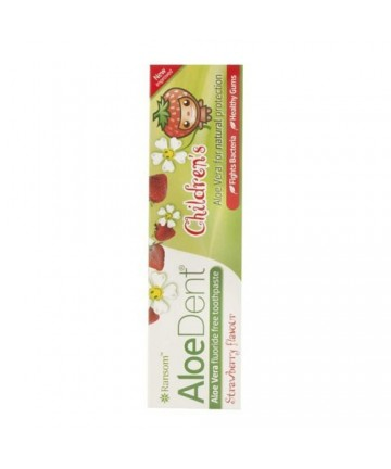 AloeDent - Pasta de dinti pentru copii - fara fluor