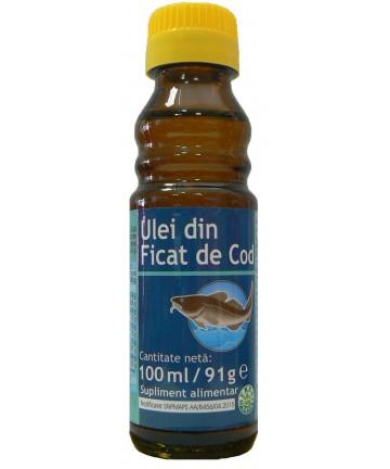 Ulei din Ficat de Cod (Cod Liver Oil)