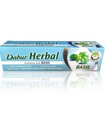 Dabur - Pastă de dinţi herbal cu busuioc indian - 100ml
