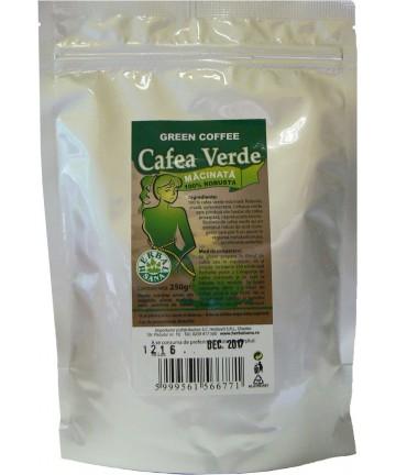 Cafea Verde Măcinată - ROBUSTA -250 g